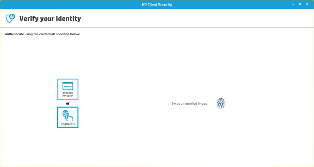 Hướng dẫn cài bảo mật vân tay trên HP Elitebook