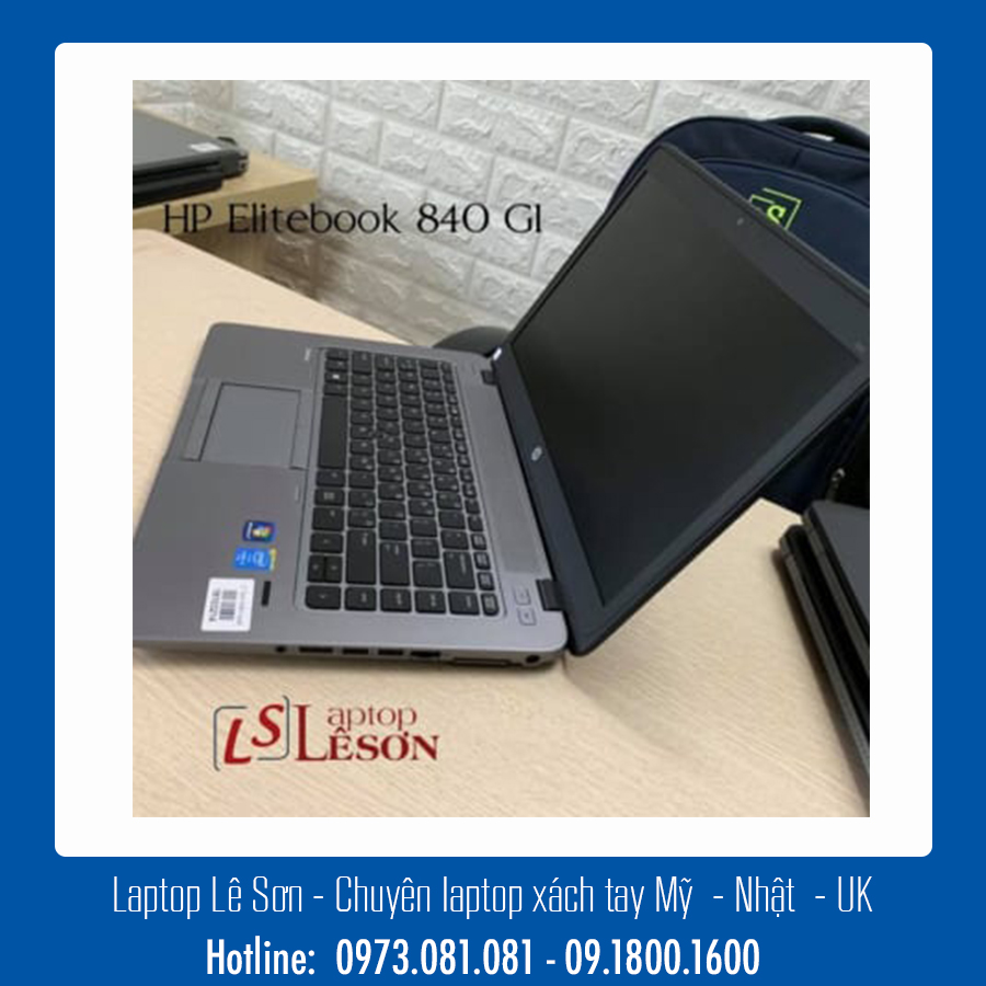 #7 Laptop tầm trung giá tốt: HP Elitebook 840 G1