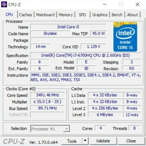 i7 6700HQ 1 1 Laptop Lê Sơn