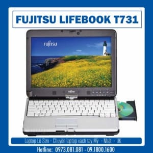 Laptop Lê Sơn Fujitsu Lifebook T731 04