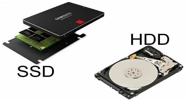 SSD vs HDD Laptop Lê Sơn