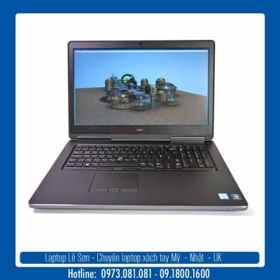 Laptop Lê Sơn Dell Precision 7710