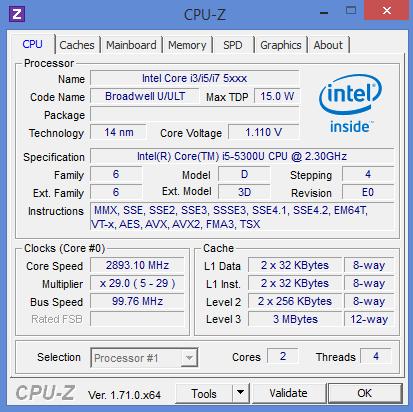 i5 5300u Laptop Lê Sơn