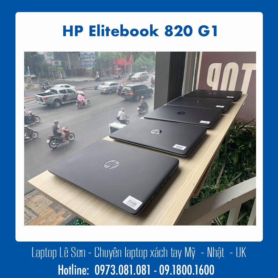 Laptop Le Son HP Elitebook 820 G1