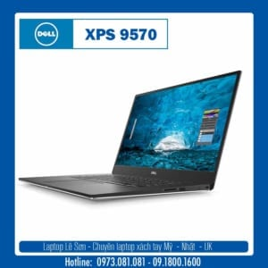 Thiết kế của Dell XPS 9570
