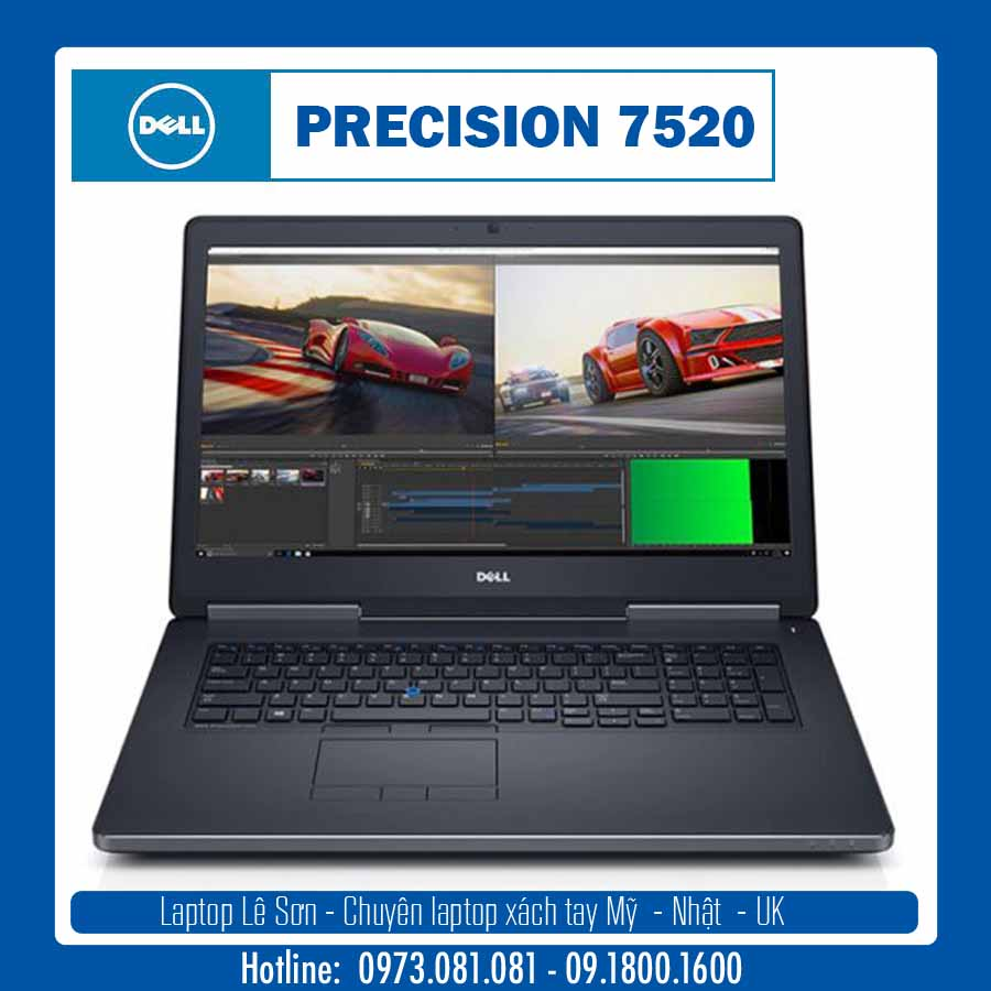 DELL Precision 7520 Laptop Lê Sơn