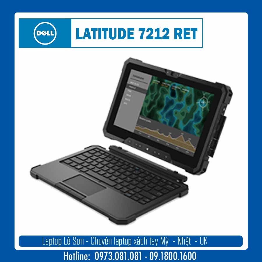 Laptop xách tay từ mỹ Latitude 7212 Rugged Extreme Tablet 01