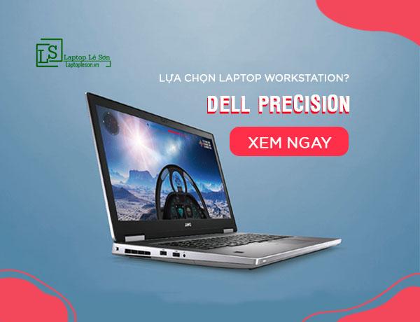 Laptop workstation DELL PRECISION
