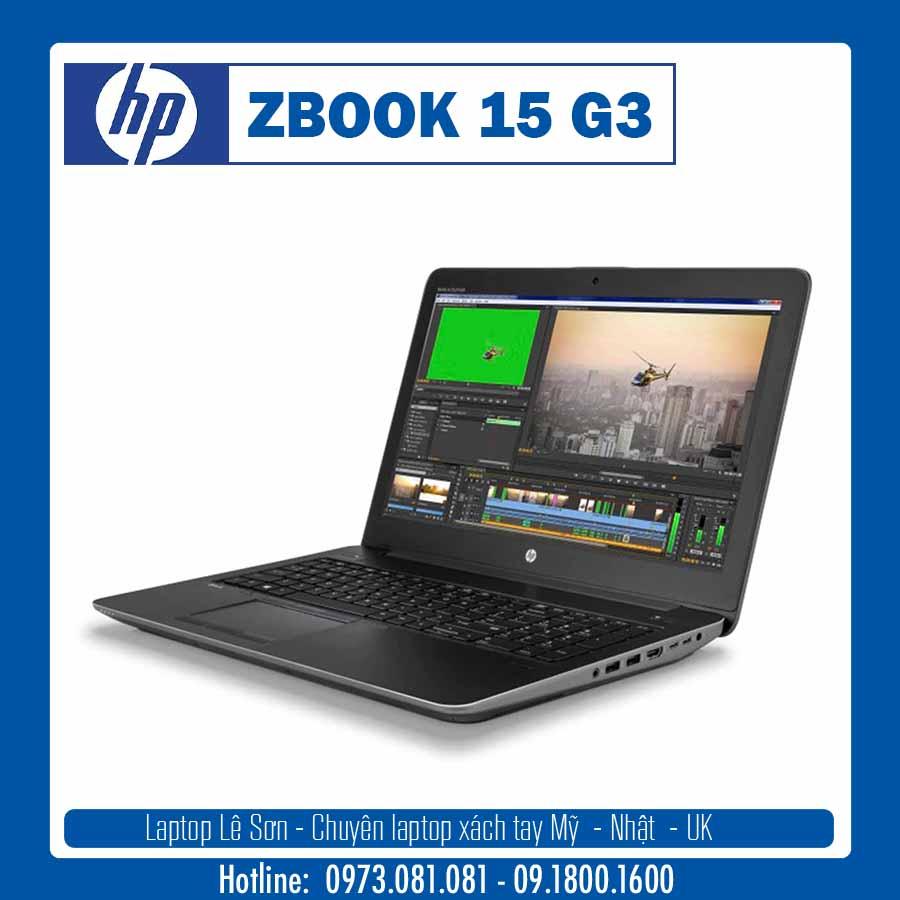 Laptop HP ZBook 15 G3 – Nhiều cấu hình