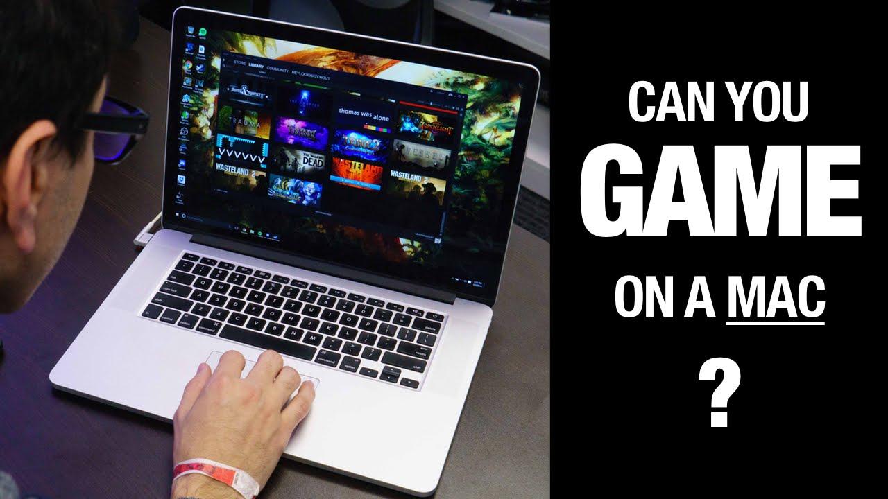 Macbook không tối ưu để chơi game