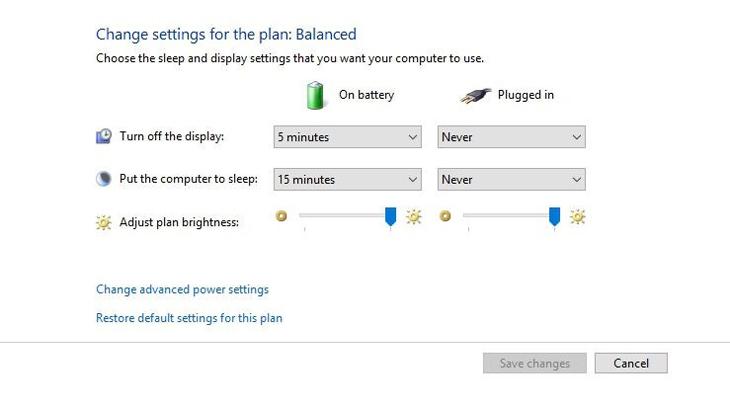 Hướng dẫn sửa lỗi laptop sạc không vào pin - laptop lê sơn 03