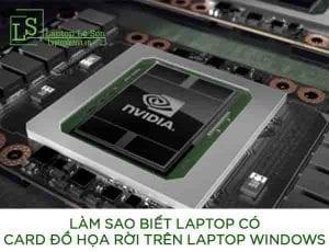 Làm sao biết laptop có card đồ họa rời trên laptop Windows - laptop lê sơn