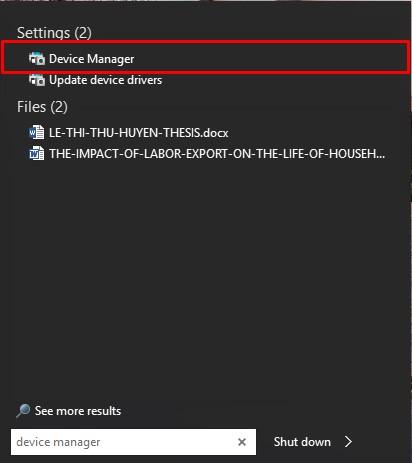 lỗi laptop không nhận tai nghe - laptop lê sơn 01